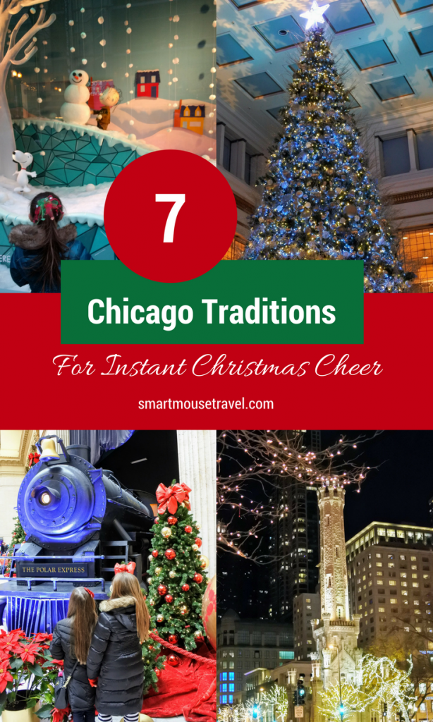 Are you visiting Chicago this Christmas and looking for festive winter activities? Here are our favorite things to do to celebrate Christmas in Chicago . #chicago #christmasinchicago #familytravel  #christmas #milleniumpark