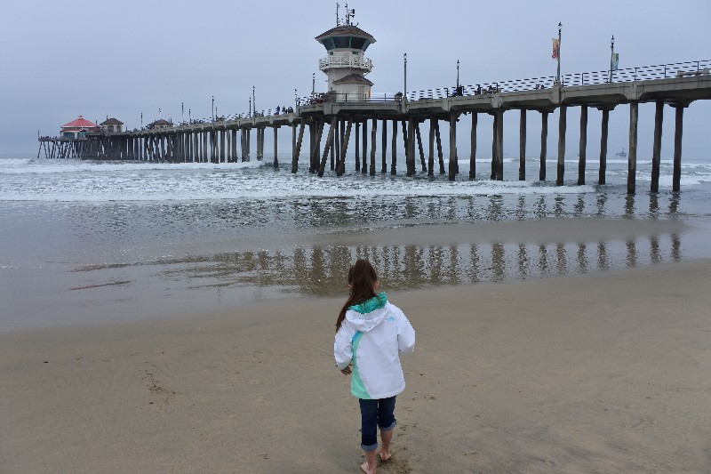 The Joy of the Pacific Ocean and Disneyland in the Same Day - Huntington Beach Pier