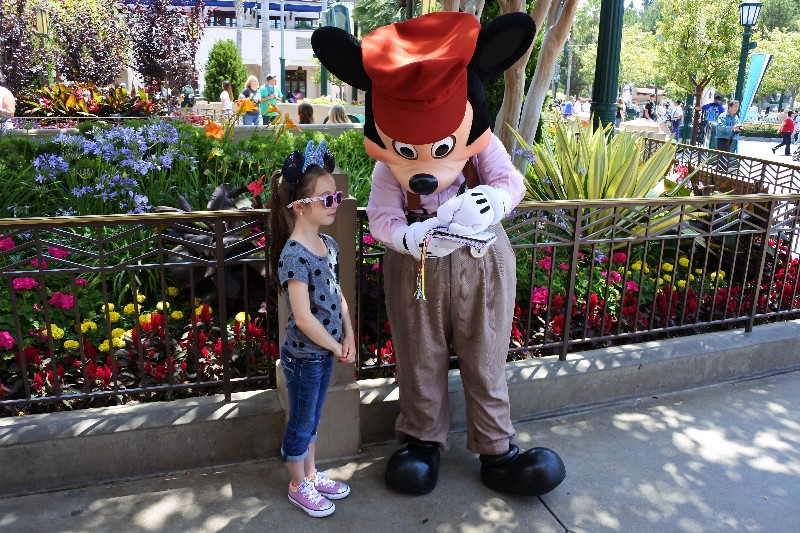 The Joy of the Pacific Ocean and Disneyland in the Same Day - Mickey at Disney California Adventure