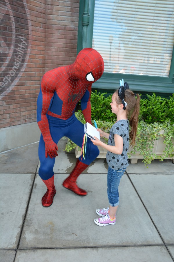 The Joy of the Pacific Ocean and Disneyland in the Same Day - Spider-Man