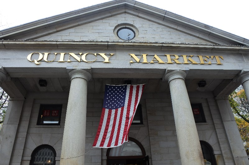 8 Great Things To Eat in Boston - Quincy Market