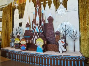 Twelve Days of Christmas - Disney Style Contemporary Gingerbread Display
