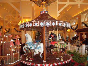 Twelve Days of Christmas - Disney Style Beach Club Gingerbread Carousel