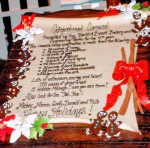 Twelve Days of Christmas - Disney Style ingredient list