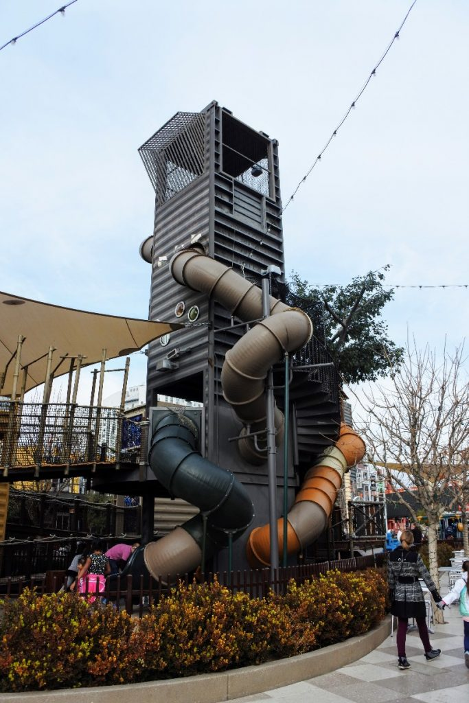 Visiting Las Vegas As A Family Can Be Fun! See What We Did On Our Trips To Las Vegas. Container Park Play Area