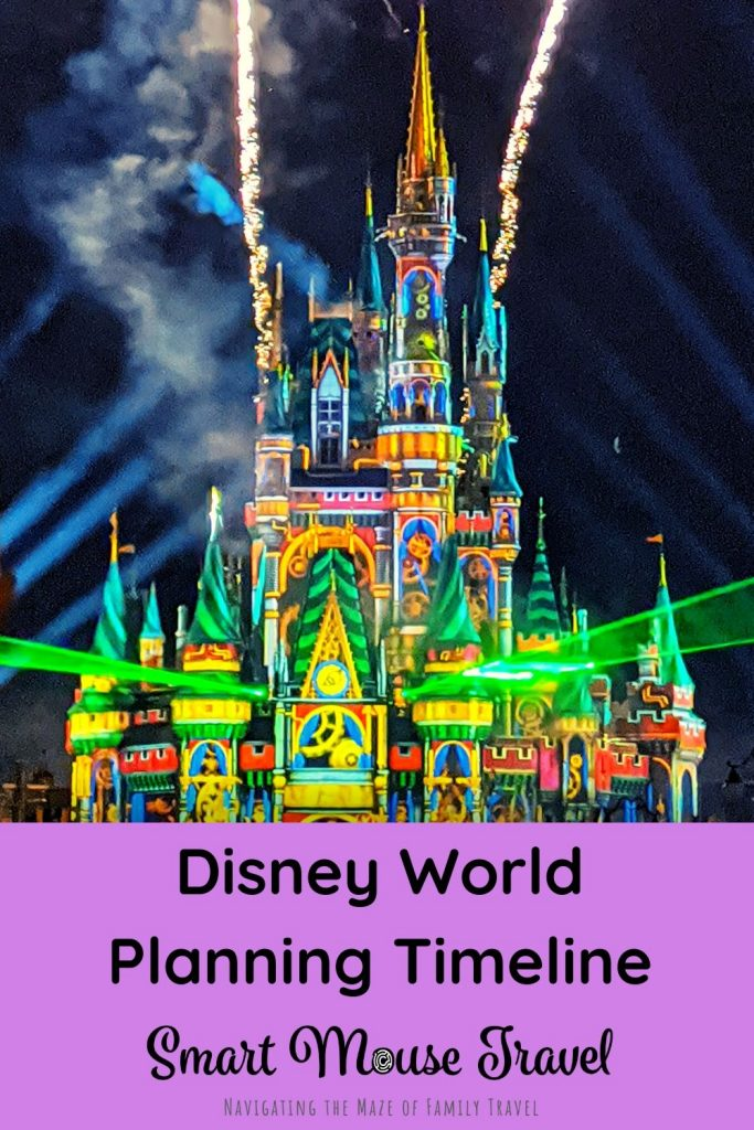 Planning a trip to Disney World? This detailed Disney World planning timeline helps you plan every step of your magical Disney World vacation. #disneyworld #disneyvacation