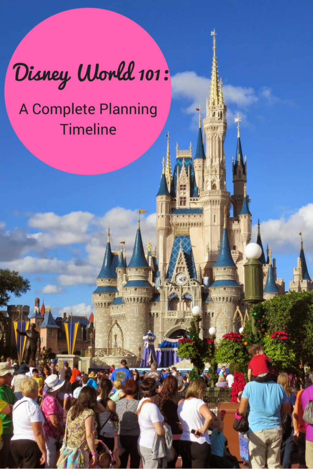 disney world planning timeline smart mouse travel