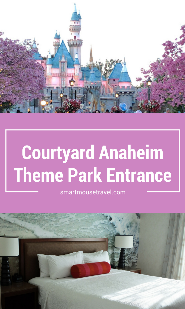 There are many hotels located within walking distance of Disneyland in Anaheim. See why we loved our stay at Courtyard Anaheim Theme Park Entrance. The hotel is perfect for families! There are bunk beds and mini fridges in every room.
