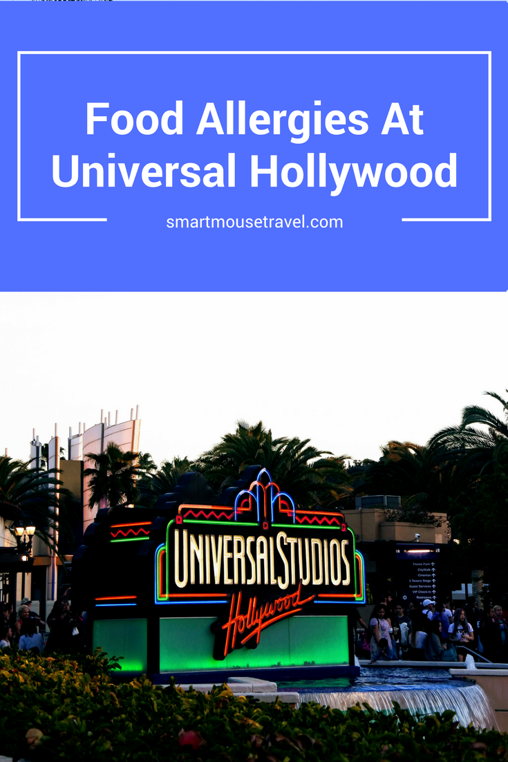 Disney does a great job helping those with food allergies, but what about Universal? See how to plan for your food allergies at Universal Studios Hollywood.