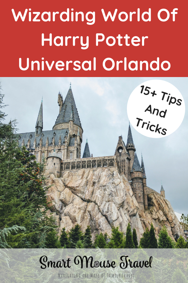 Are you a Harry Potter fan or a muggle learning about the Wizarding World of Harry Potter? Either way these tricks and tips for the Wizarding World of Harry Potter at Universal Orlando will make you look like a pro. #universalorlando #harrypotter #wizardingworld