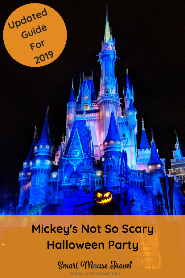 Deciding when to splurge on an extra party ticket at Disney World is tough. Find out if Mickey's Not-So-Scary Halloween Party is worth it for your family. #disneyhalloween #disneyworld #mnsshp #notsoscary