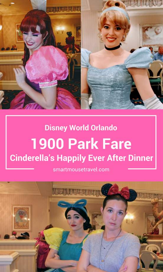 Looking for a Cinderella meal at Disney World? Or maybe it's the wicked stepmother and stepsisters you seek? Find out if Cinderella's Happily Ever After Dinner is worth it in my 1900 Park Fare dinner review.