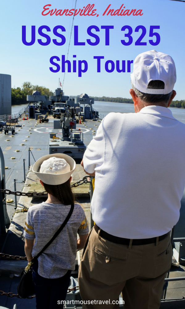 USS LST 325 is a fully restored Landing Ship, Tank Navy vessel based in Evansville, IN. Tour LST 325 and learn about its important history in World War II. The LST 325 Museum is certainly worth the hour long tour! #lst325 #usslst325 #WWII #evansvilleindiana