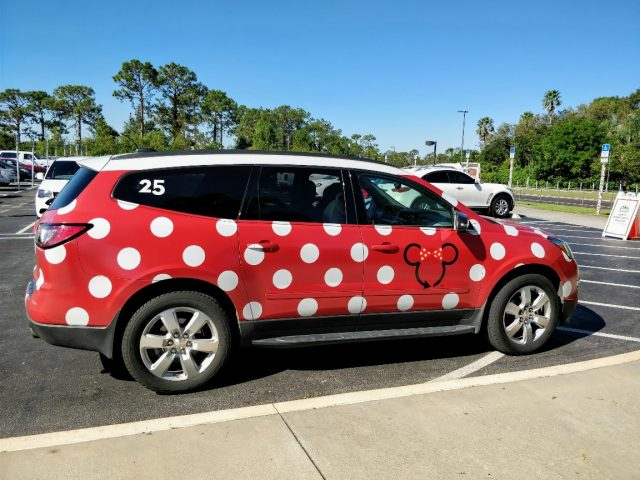 Minnie Vans are the newest transportation option at Disney World. Find when this pay service is really worth it in my Minnie Van review. #minnievan #disneyworld #disneyworldplanning