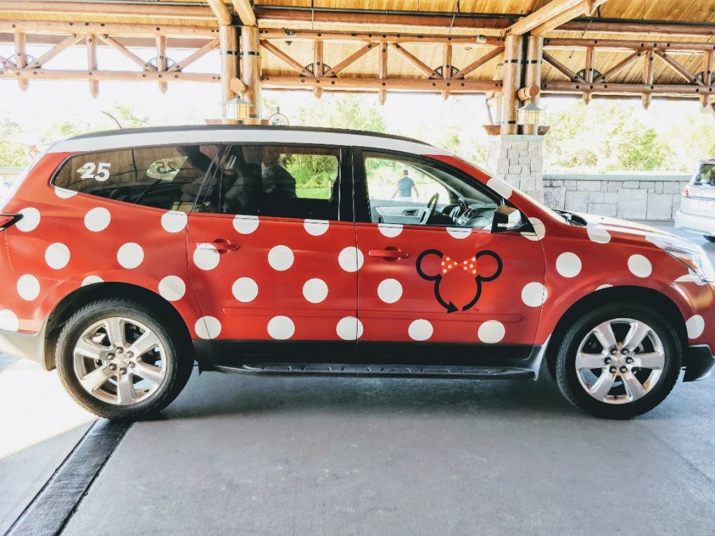eb315b7d54 Minnie Vans are the newest transportation option at Disney World. Find when  this pay service