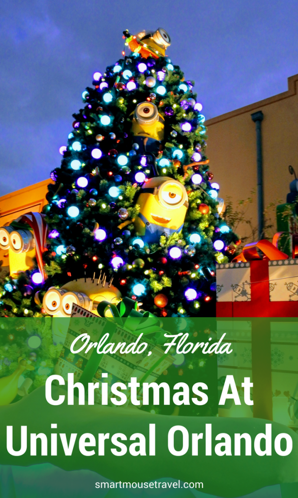 With all new offerings in 2017, we had to see what celebrating the holidays with a Universal Orlando Christmas was all about. Find out more about what activities put us in the Christmas spirit at Universal Orlando. #christmas #universalorlandochristmas #universalorlando #holidaysatuniversalorlando
