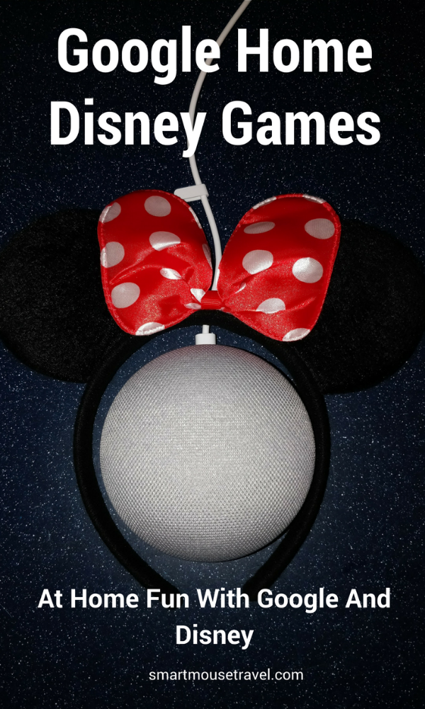 Did you know Google Home and Disney have partnered for extra fun? There are several Google Home Disney games that you can play if you know the code words. #disney #googlehome #belle #mickeymouse #cars #starwars #games