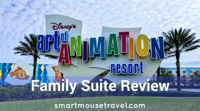 Are you looking for spacious accommodations at Disney World without the large price tag of a Disney deluxe villa? See why you should consider an Art of Animation Family Suite for your trip to Disney World and how we thought it compared to a deluxe villa. #disneyworld #orlando #florida #disneyresorts #artofanimation