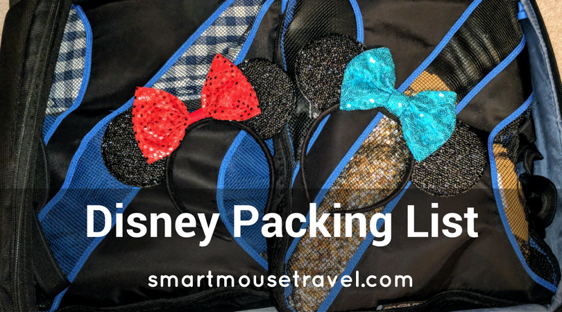 Packing for Disney World can be a bit overwhelming. Over years and many trips I have compiled my own Disney World Packing list which you can now use to make your packing easy! #disney #disneypacking #disneyworld #packing
