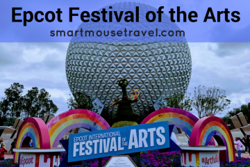 Epcot Festival of the Arts is an amazing celebration of many types of art. There were so many activities and foods to try that it is hard to do it all. Find out our five favorite activities at the 2018 Epcot Festival of the Arts.