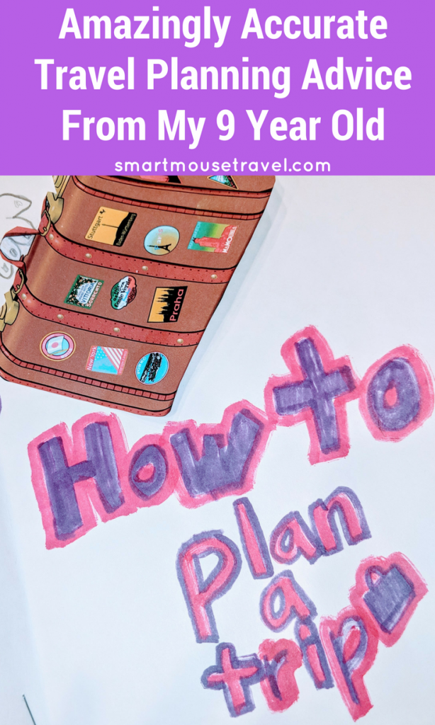 Sometimes planning a trip can feel challenging, but my 9 year old's school project shows that anyone can plan a trip by following a few easy steps. See what my daughter has to say about the time we have spent planning and taking trips together. #familyvacation #vacationplanning #planatrip