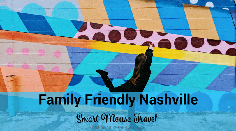 "Nashville has grown in popularity as a vacation spot especially for those looking at a destination bachelorette party. Is it still possible to have a Nashville family friendly trip? The answer is ""yes"" if you learn from my mistakes. #nashville #familyvacation"