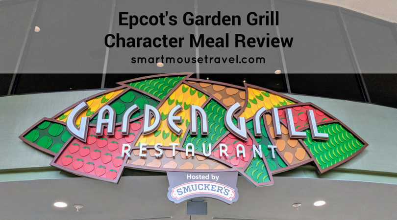 Epcot's Garden Grill character meal gives you the chance to meet Mickey and some of his friends. Find out more about Chip 'N' Dale's Harvest Feast character interactions, food and how we managed a meal with food allergies. #disneyworld #charactermeal #mickeymouse