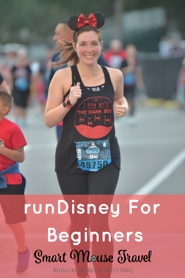Is a runDisney event on your bucket list, but you don't consider yourself a runner? Find out how to do your first runDisney race based on what I learned as a runDisney beginner! #rundisney #starwars #5k