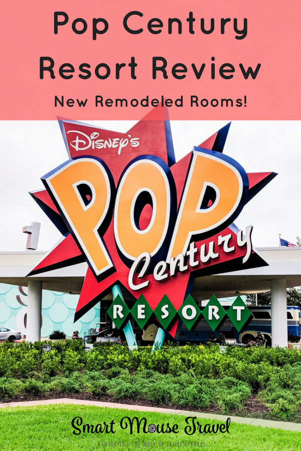 Pop Century Resort Review: Pop Century Remodeled Standard