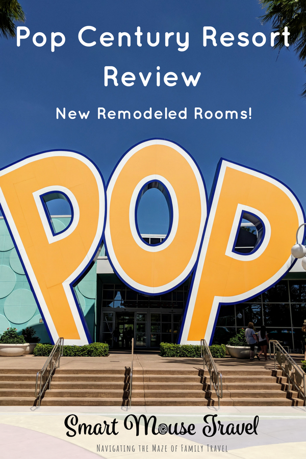 Pop Century is a popular Disney World Value Resort undergoing a refurbishment. Find out if the new Pop Century remodeled rooms are right for your Disney World vacation. #popcentury #disneyworld #popcenturyremodeledroom #disneyplanning