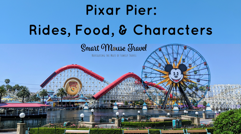There is a lot to do in the newly updated Disneyland Pixar Pier. Here's what you need to know about Pixar Pier rides, food, and characters. #pixarpier #disneycaliforniaadventure #disneyland