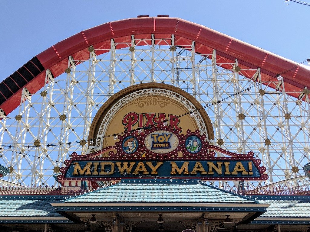 There is a lot to do in the updated Disneyland Pixar Pier. Here's what you need to know about Pixar Pier rides, food, and characters. #pixarpier #disneycaliforniaadventure #disneyland