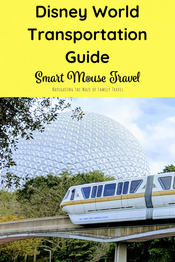 Navigating Disney World Transportation options can be like learning a city transit system. Plan your Disney World Transportation options before your trip. #disneyworld #disneyworldtransportation #familytravel #disneymonorail