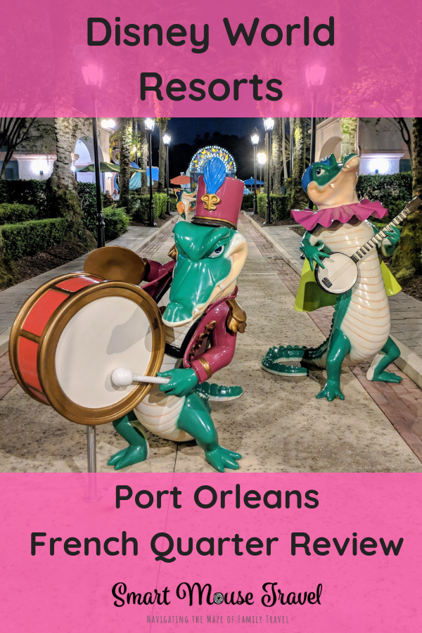 Planning a Disney World Trip? My Port Orleans French Quarter Review will walk you though everything you need to know about the resort and Garden View Room. #disneyworld #disneyplanning #disneyresorts #portorleans #frenchquarter