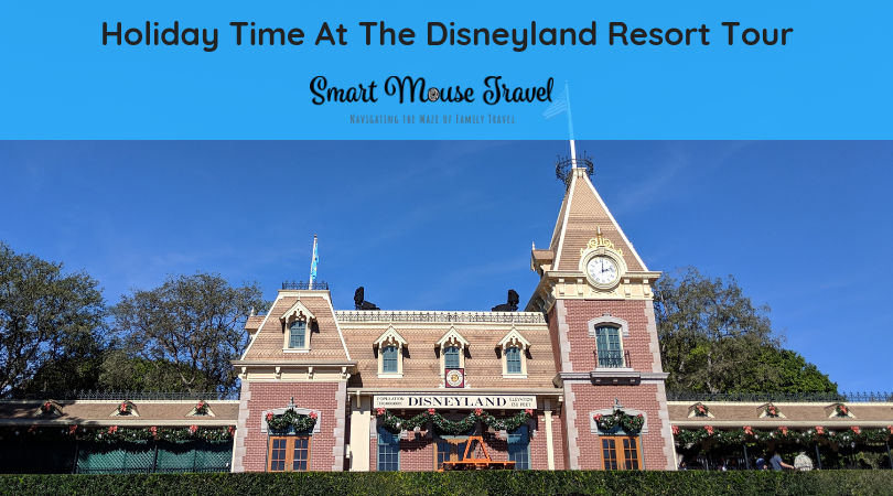 Holiday Time At The Disneyland Resort Tour is a seasonal group tour with special A Christmas Fantasy Parade seats. Find out if you should book this tour! #disneyland #disneylandtour #disneychristmas #disneyvacation