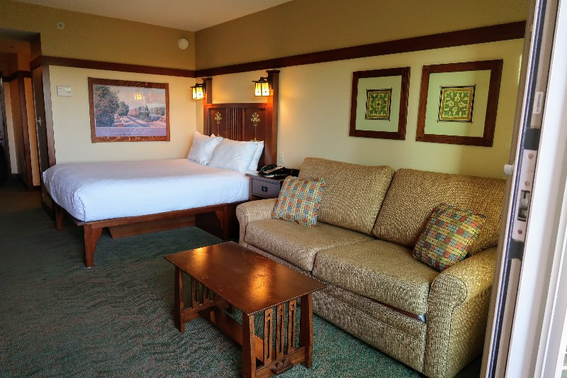 Disney S Grand Californian Hotel Deluxe Studio Villa