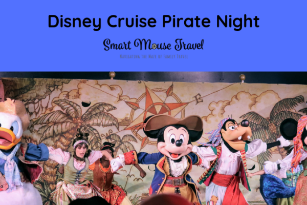Disney Cruise Pirate Night is a special event on cruises to the Caribbean. Here is our complete guide to Pirate Night and best tips to make it extra fun. #disneycruise #piratenight #disney #familytravel