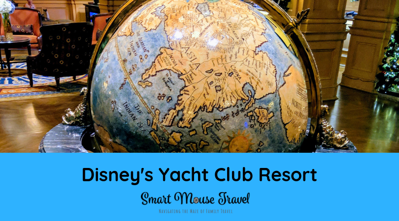 Disney's Yacht Club Resort Review: Standard View Room - Smart Mouse on