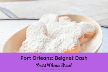 Want to do something different on your next Disney World trip? Take some time to do the Port Orleans Beignet Dash fun run! #disneyworld #portorleans #beignetdash #rundisney #familytravel