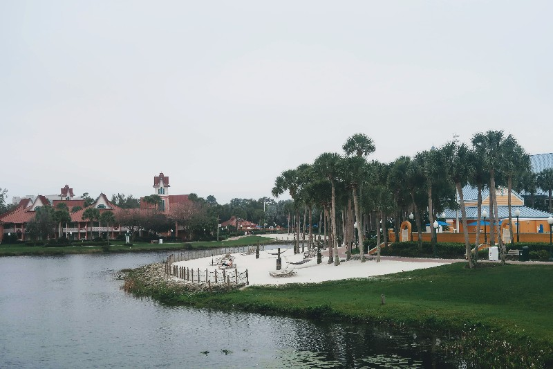 Disney's Caribbean Beach Resort adds some island flair to your trip to Disney World. Learn more about our Caribbean Beach Resort Standard View Room stay. #disneyworld #familyvacation #caribbeanbeachresort