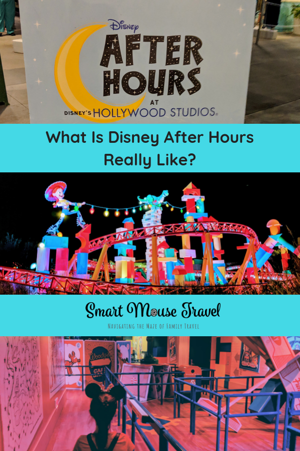 Hollywood Studios Disney After Dark is a way to experience the best of Hollywood Studios without crowds. Learn what to expect at this limited time event! #disneyworld #hollywoodstudios #disneyafterhours #toystoryland