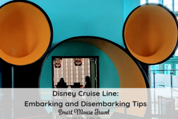 Learn about the Disney Cruise embarkation and disembarkation process and our tips for making your Disney Cruise embarkation and disembarkation days easy. #disneycruise #disneyvacation #disneycruiseline #disneycruisetips