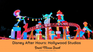 Hollywood Studios Disney After Dark is a way to experience the best of Hollywood Studios without crowds. Learn what to expect at this limited time event! #disneyworld #disneyafterhours #hollywoodstudios #toystoryland
