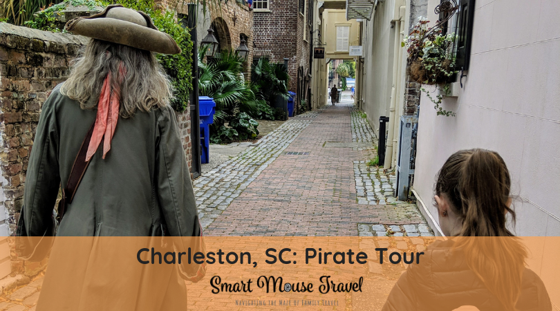 Charleston Pirate Tours is a fun walking tour in Charleston, South Carolina that mixes history and storytelling for an unforgettable family experience. #charleston #southcarolina #charlestonfamilyvacation #pirates
