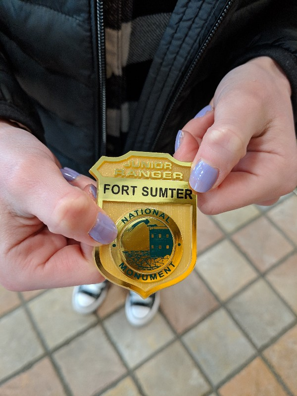 Visiting Fort Sumter is a great way learn Civil War history when in Charleston, SC. Find out more with our tips for visiting Fort Sumter with kids. #charleston #charlestonwithkids #southcarolina #fortsumter #findyourpark
