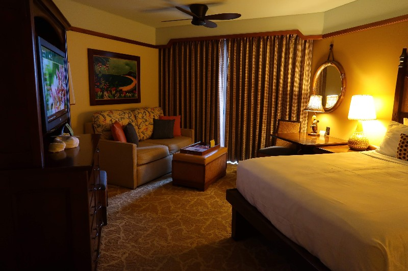 Disney Aulani Resort is a wonderful, fun filled Hawaiian oasis. See what we loved at Aulani, but why we would skip the Aulani deluxe studio villa next time. #aulani #oahu #disneyaulani #dvc #familytravel #hawaii #disneyvacation