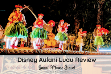 The Disney Aulani Ka Wa'a Lu'au is an entertaining way to learn about Hawaiian culture, but was our VIP experience worth it? #disneyaulani #aulani #hawaii #luau