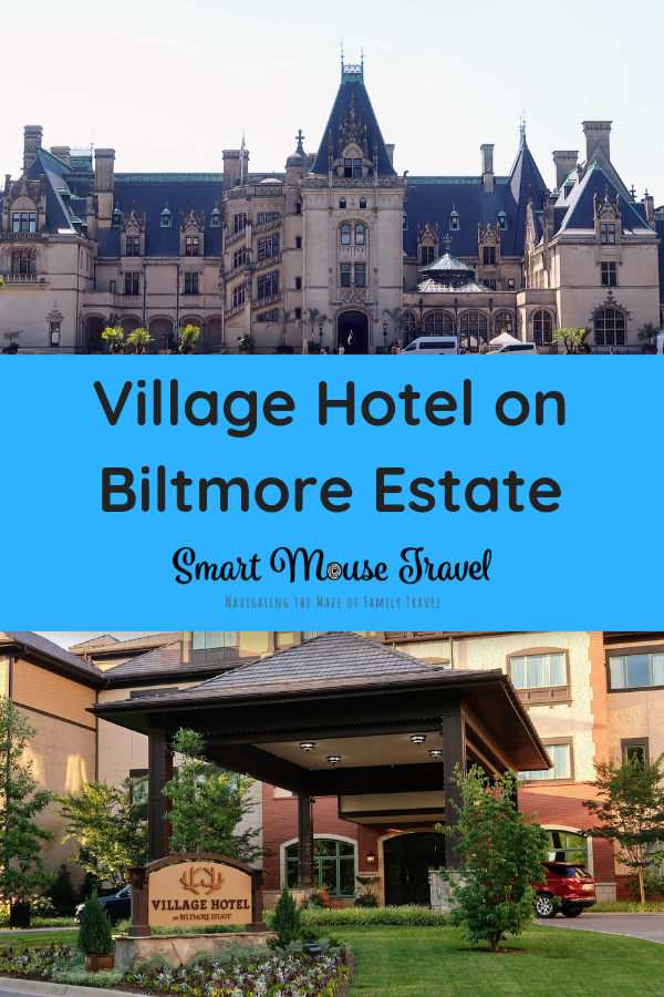Village Hotel on Biltmore Estate is a cute farmhouse-inspired hotel right on the Biltmore property. Find out why Village Hotel was a great part of our trip. #biltmore #asheville #northcarolina #familytravel