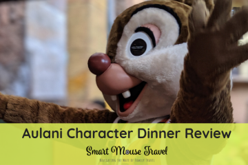 Find out why we recommend a rowdy good time with Donald and friends at Menehune Mischief, the Disney Aulani character dinner. #disneycharacters #disneyaulani #aulanicharacterdinner #disneyvacation #charactermeal