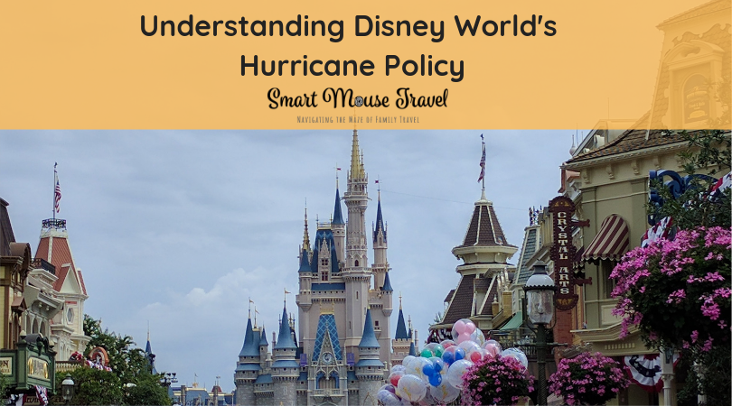 Do you know Disney World's hurricane policy? I thought I did, but learned I didn't when we had to reschedule a Disney World trip to avoid a hurricane. #disneyworld #disneyvacation #familytravel #disneyworldhurricane